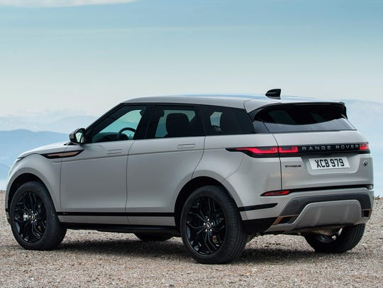 The Evoque's base prices range from $42,650-$55,800.