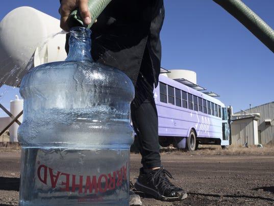 Navajo water
