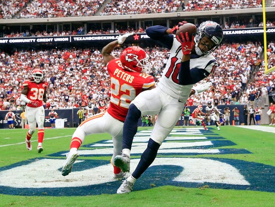 USP NFL: KANSAS CITY CHIEFS AT HOUSTON TEXANS S FBN USA TX