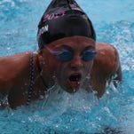 Molly Logsdon, a Berkley grad headed to Kalamazoo College, is one of the top 15-18 age-division swimmers for the Huntington Woods Aquatic Club.