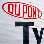 DuPont's announced Thursday April 17, 2014 agricultural sales suffered and its operating costs rose during extensive winter storms that dragged on first-quarter earnings, although volumes increased in the company's industrial segments and margins improved in almost every one of them.