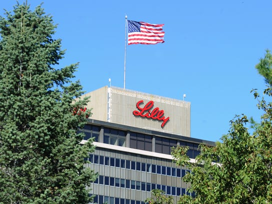 Eli Lilly and Co. corporate headquarters at Delaware