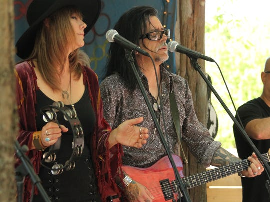 Medicine Hat, Michelle Votrian and Robert Ramirez, will host its official self-titled EP release party from 2:30-6 p.m. April 15 at Hong Kong Inn in Ventura.