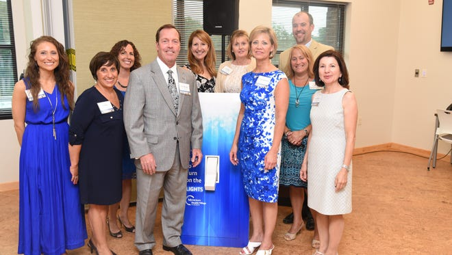 The lights were turned on at the Meridian Health Village at Jackson for Integrative Health & Medicine.