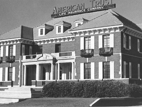 The Weeks Mansion housed the American Trust Life Insurance