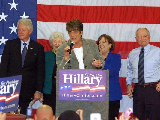 Clinton in Richmond