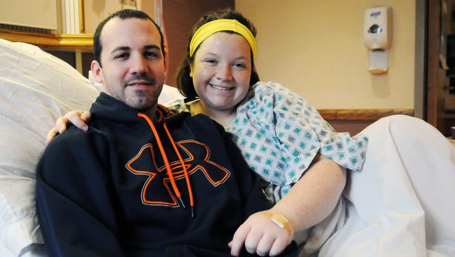 Zack and Katlyn Cox had the first baby of the year in Fairfield County on Jan. 1 at Fairfield Medical Center.
