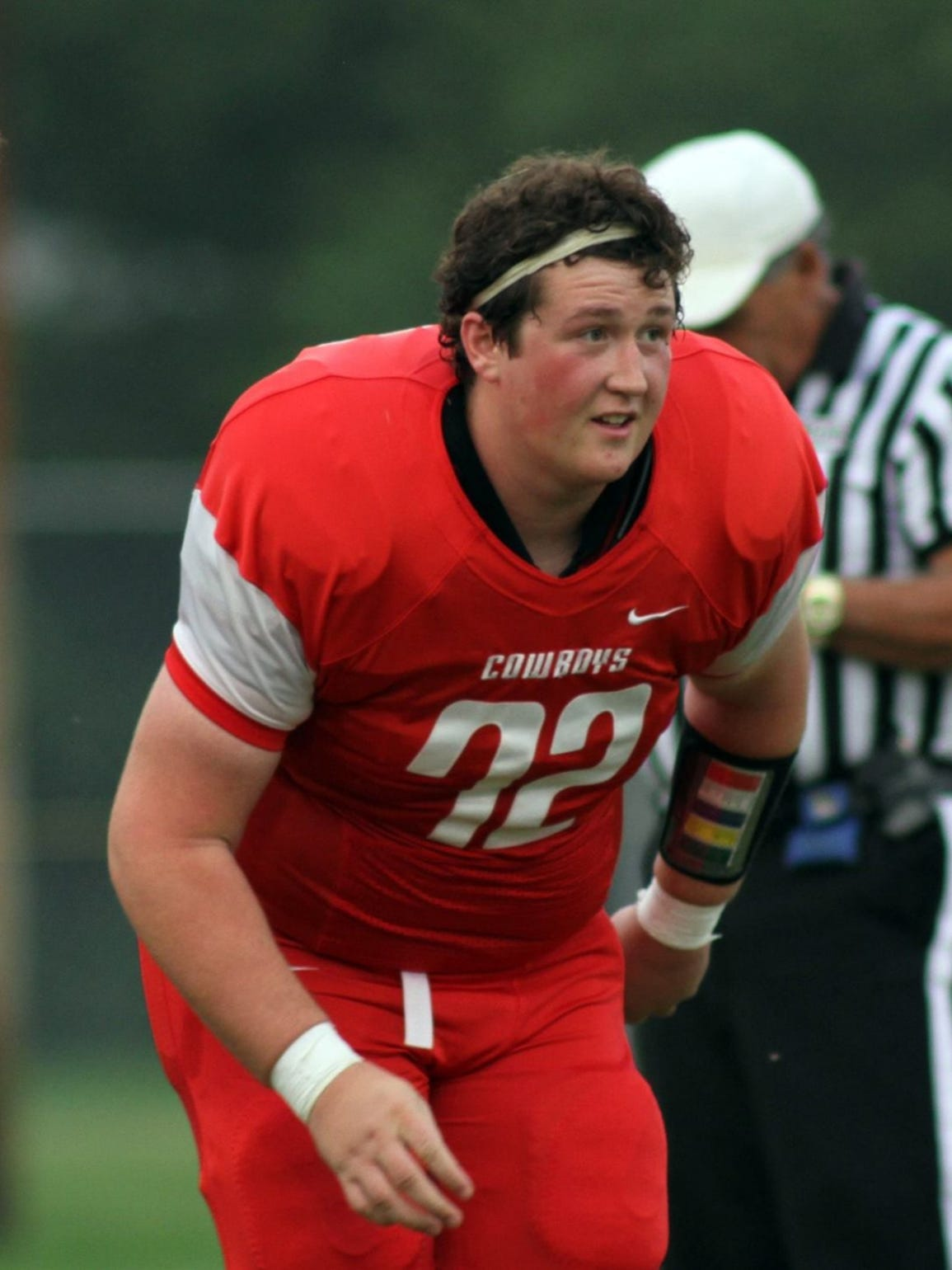 Conrad High senior Connor Peters recovered from a serious