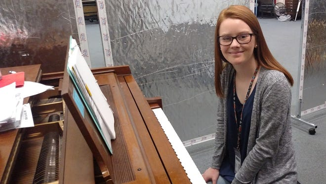 Callie Howard, a junior at Cooper High School and 2017 Star Student selection, credits her music experiences at the high school, including playing piano, with helping her overcome some social anxiety after transferring to the school to begin her sophomore year.