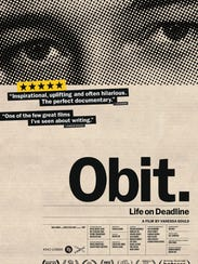 """The documentary """"Obit."""" screens Aug. 30 at the Malco"""