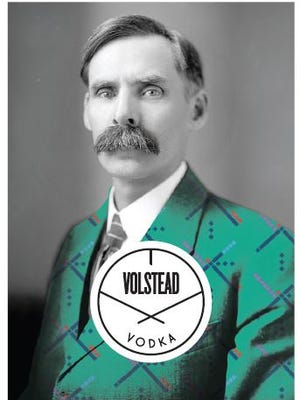 The label for House Spirits Distillery's limited edition release of Volstead Vodka.