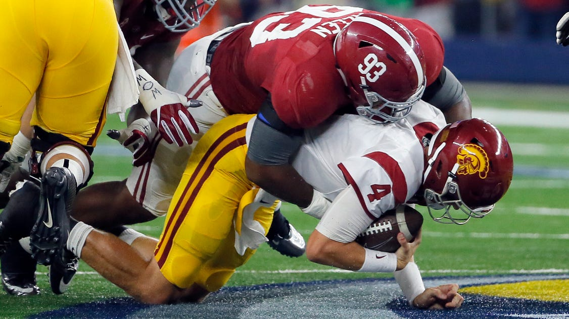 Alabama DL Jonathan Allen trying to add to his NFL resume
