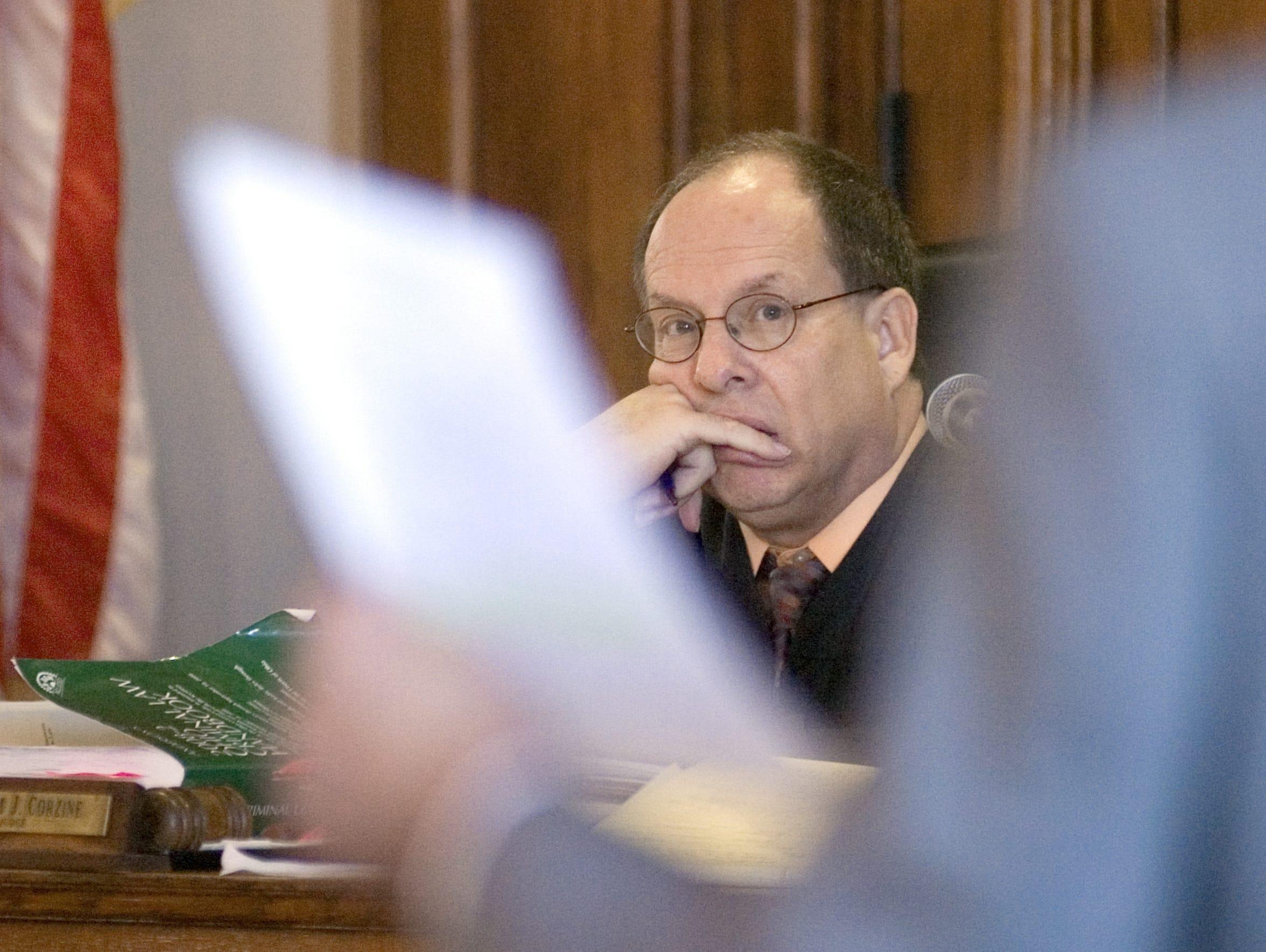 Ross County Common Pleas Court Judge Wm. Jhan Corzine