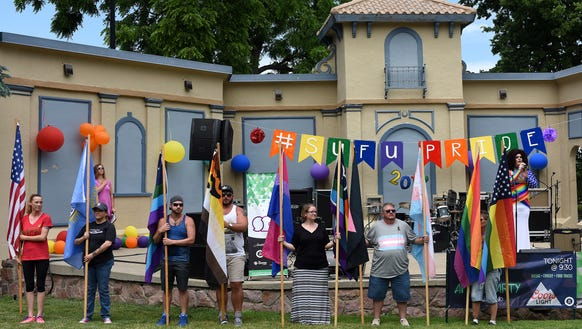 Sioux Falls Pride's Opening Flag Ceremony and National