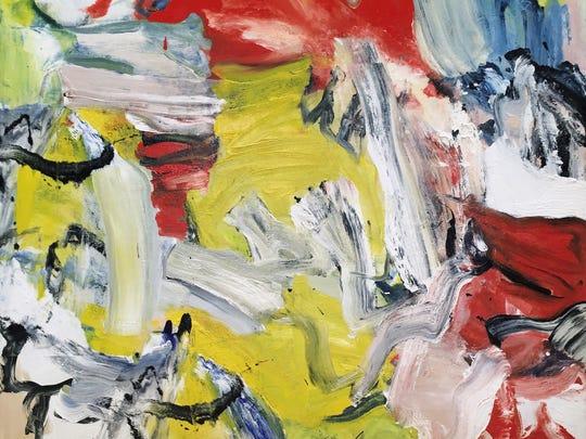Willem de Kooning, Untitled XXI, 1976