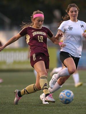 Midfielder Hallie Pearson (19) will be one of Brebeuf's leaders this season.