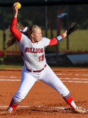 South Fork pitcher Barbara Cook has averaged more than a strikeout per inning this season.