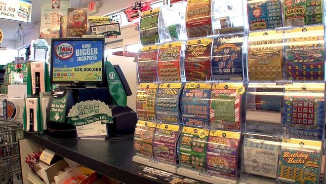 A winning Jersey 5 Cash lottery ticket was sold in Gibbsboro.