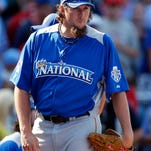 Joel Hanrahan, a two-time National League All-Star, will undergo elbow surgery on March 18.