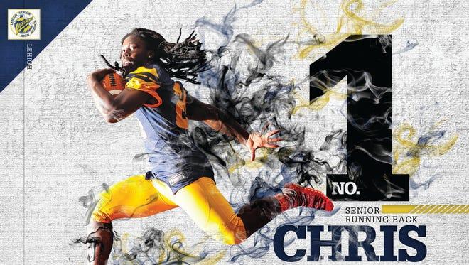 The Big 15 No. 1 Chris Curry, Lehigh running back