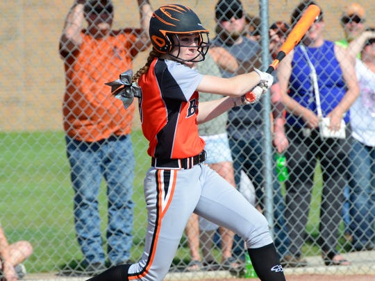 Keely Snyder had two triples as Gibsonburg advanced to the district finals.