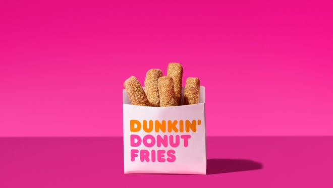 Dunkin' Donuts launches five new snacks for Dunkin' Run menu.