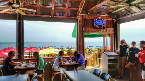 Obie's by the Sea on the boardwalk in Rehoboth Beach re-built its deck during the off season.