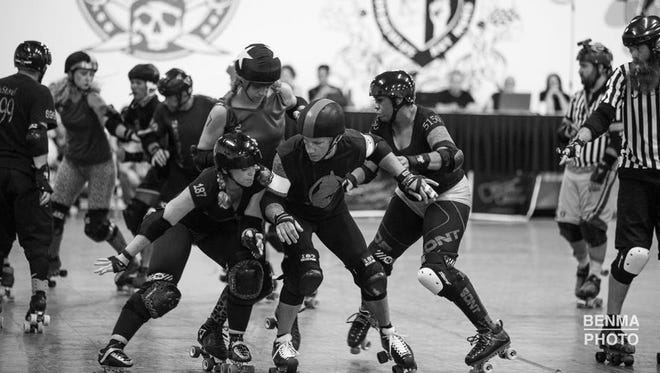 The Capital City Hunger Games features a co-ed mash-up of Salem and Portland roller derby teams.
