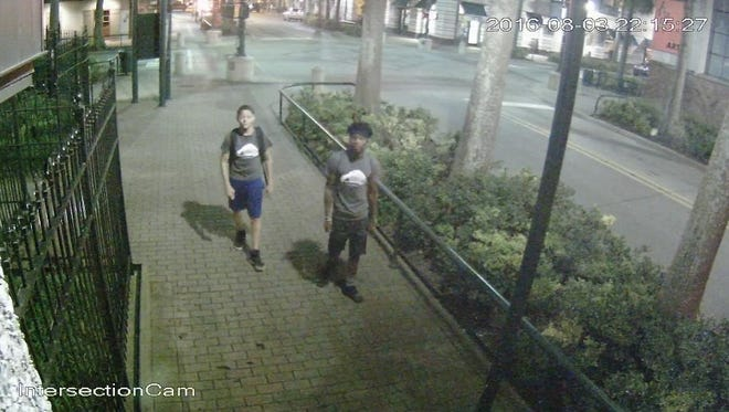 Suspects wanted in downtown robberies