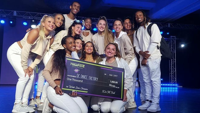 Franklin-based dance studio DC Dance Factory won seven of 13 categories at the Hall of Fame World Series dance competition in Orlando, Fla.