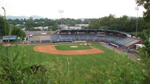 McCormick Field in Asheville.