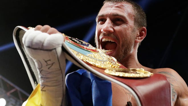Vasyl Lomachenko, who resides in Camarillo, will fight Guillermo Rigondeaux in New York City on Saturday night.