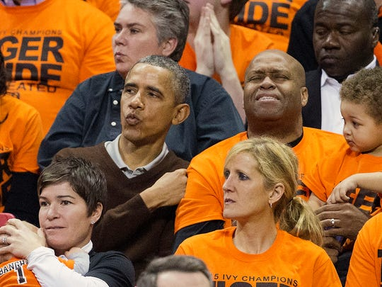Knicks VP of player development and G-League operations said his brother-in-law, former President Barack Obama, supports the Knicks, but still roots for his hometown Chicago Bulls.