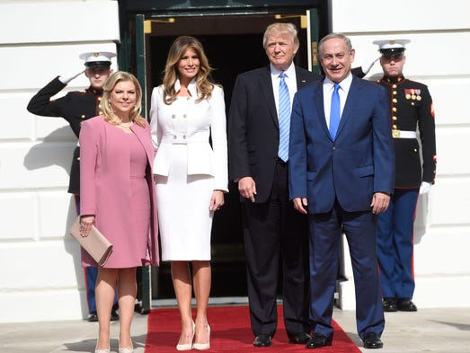 First lady Melania Trump's first White House-based