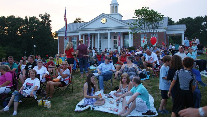 City of Fairview's annual Independence Day Celebration will bring the community to the front lawn of city hall on July 3.