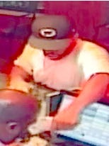 The suspect in a LaRosa's robbery on Aug. 7.