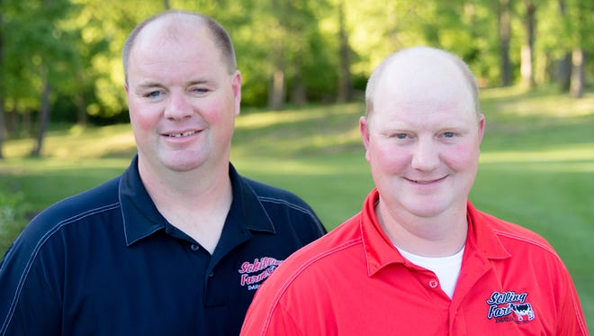 Andrew and Brian Schilling of Schilling Farms in Darlington, Wisconsin, have been named the 2017 Progressive Commercial Dairy Managers.