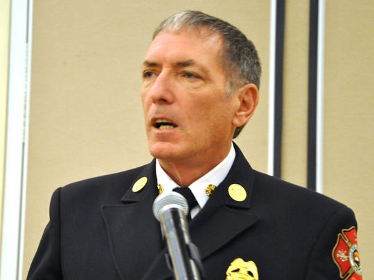 Marco Island''s Fire-Rescue Chief Mike Murphy.