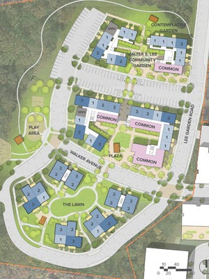 Next month, the Housing Authority for the City of Asheville intends to go before city council to solicit support for the $28 million redevelopment of Lee Walker Heights, the city's oldest public housing community. Plans for the project include at least 200 mixed-income affordable housing units—96 reserved for current residents. It will feature several multi-story buildings hosting one-, two- and three-bedroom units. There will be ample parking, common areas and outdoor green space, including gardens, a playground and an open lawn.