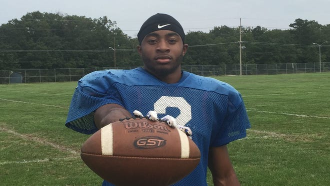 Millville's EJ Nichols will make his team debut against Kingsway on Friday.