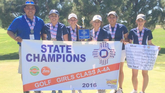 The Silver High girls' golf team captured the Class A/4A state title and made some history becoming the first one in the school's program.