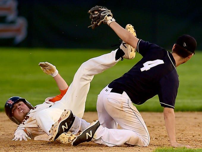 STAC high school baseball final, Corning at Union-Endicott,