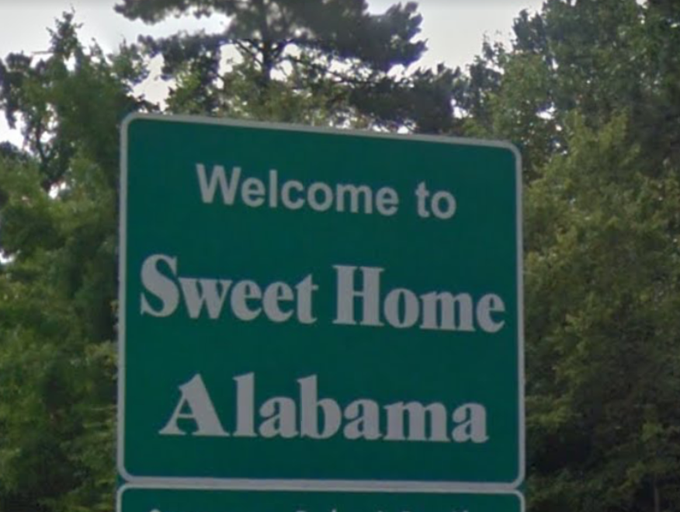 In 2014 Alabama welcomed a new welcome sign to its