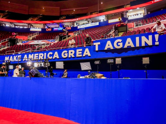 EPA USA 2016 REPUBILCAN NATIONAL CONVENTION POL ELECTIONS USA OH