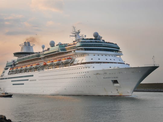 Royal Caribbean's Majesty of the Seas has canceled a scheduled Friday sailing from Port Canaveral.