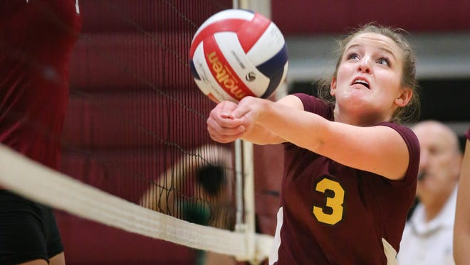 The Winneconne lady Wolves hosted the Omro Foxes Tuesday night, September 9, 2014.