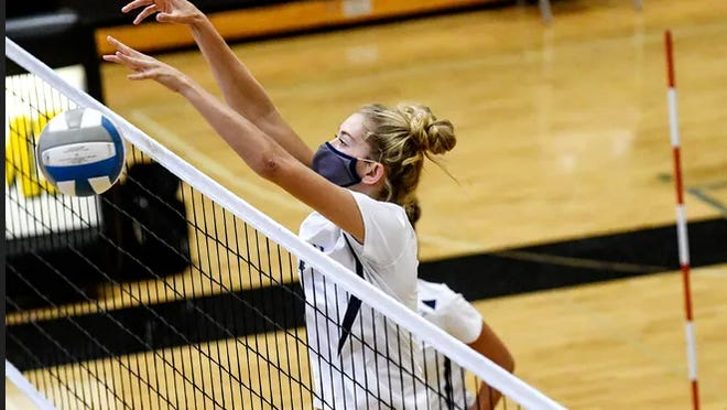 Lakewood's Aubrey O'Gorman is a nominee for Miss Volleyball in Michigan.