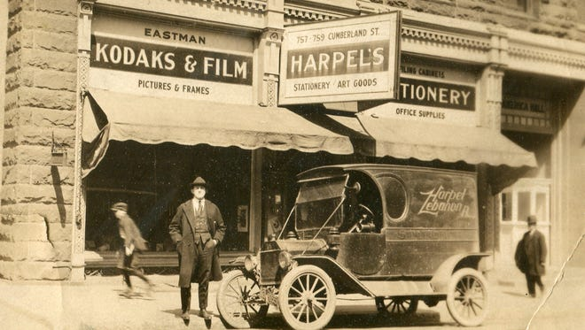 The original home of Harpel's on Cumberland Street in Lebanon.