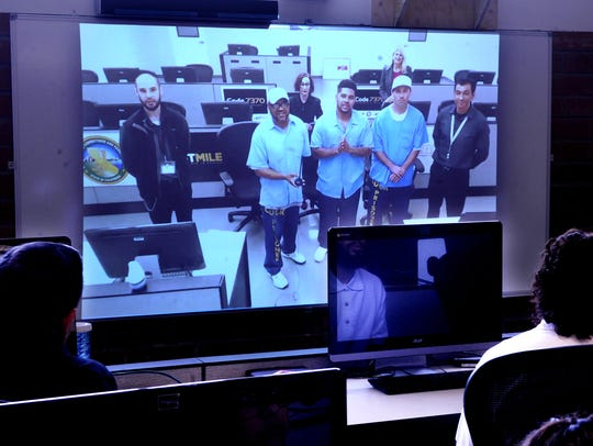 Students learning to code at the Ventura Youth Correctional Facility in California are getting coaching from inmates at San Quentin State Prison over Skype.
