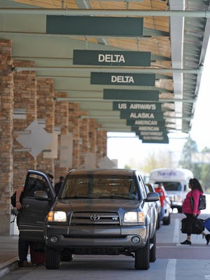 Reno-Tahoe International Airport announced that it will allow ridesharing services to pick up and drop off passengers at the airport.
